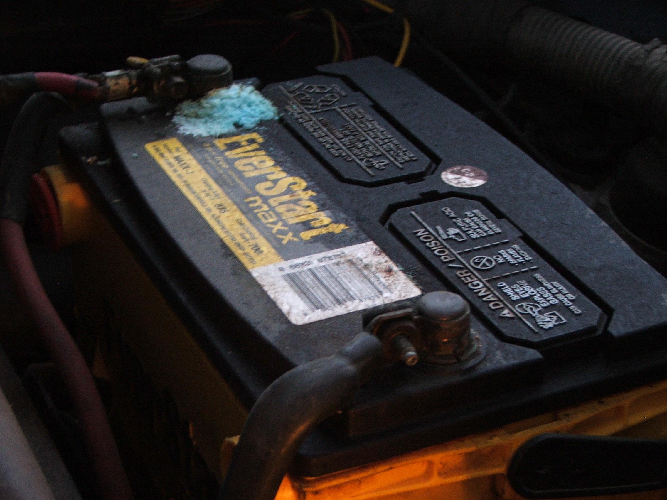 alternator battery starter