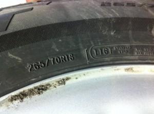 tires, heavy duty, load