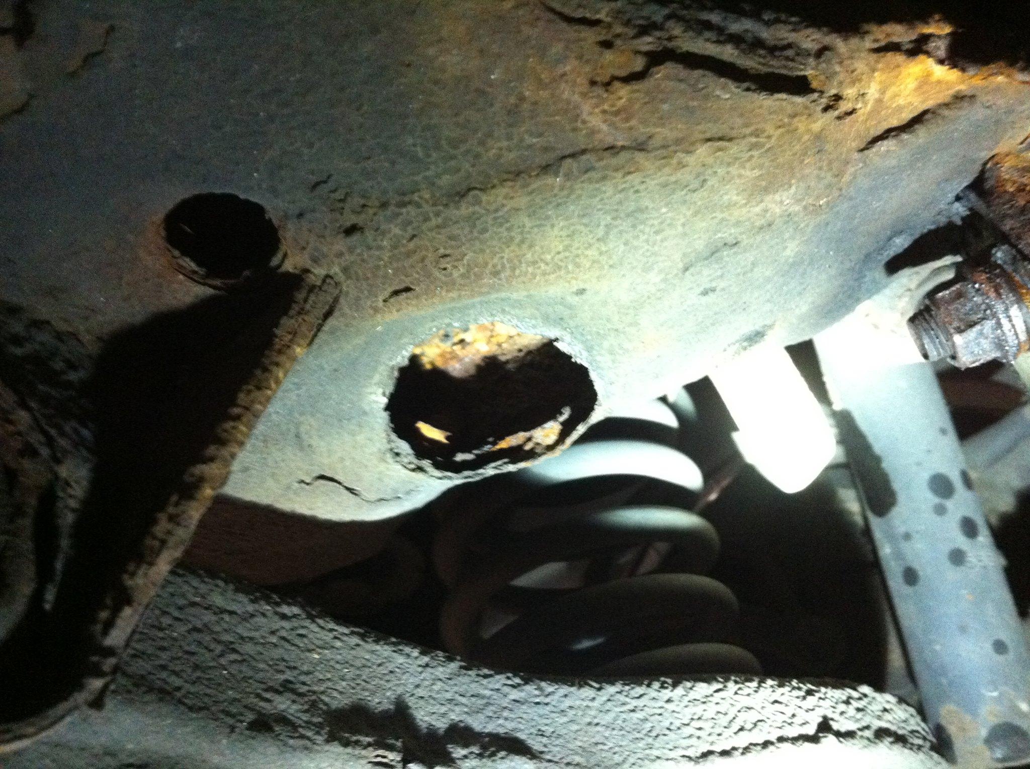 fix rust, suspension, salt, road